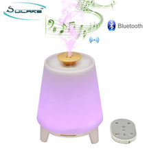 SOICARE New Bluetooth Speaker Aromatherapy Essential Oil Diffuser with led lights