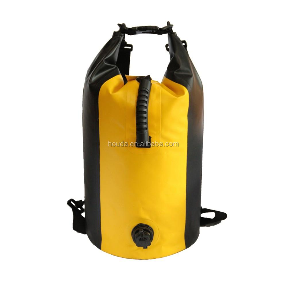 20l Water Resistant Waterproof Floating Backpack Inflatable Dry ...