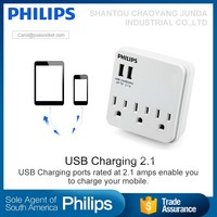Wholeslae multi function usb charger power adaptor travel adaptor with 2 usb ports