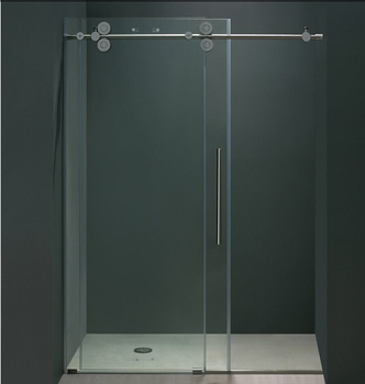 Large Sliding Gl Frameless Shower Doors Product On Alibaba