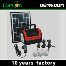 5W solar panel 3w led off grid new products solar energy systems