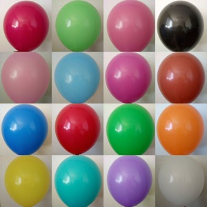 Promotional festival factory price new Thailand material latex decoration balloons for party
