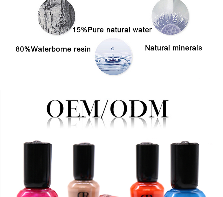 Made in china water permeabel nagellak