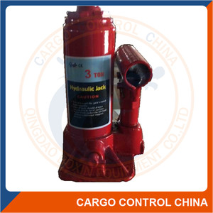 Car hydraulic double raw bottle floor jack stand