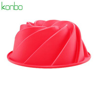 Vortex shape custom silicone cake pan mold supplies soap moulds accessories kitchen baking stencil