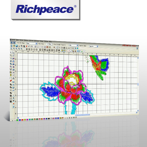 Richpeace Welcome Embroidery CAD Software V6.0