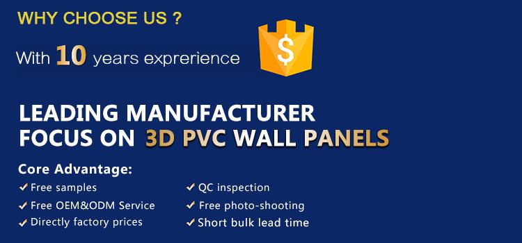 割引耐火レンガ 3d 壁パネルホット販売エコ PVC 天井石膏テクスチャボード現代壁アート装飾