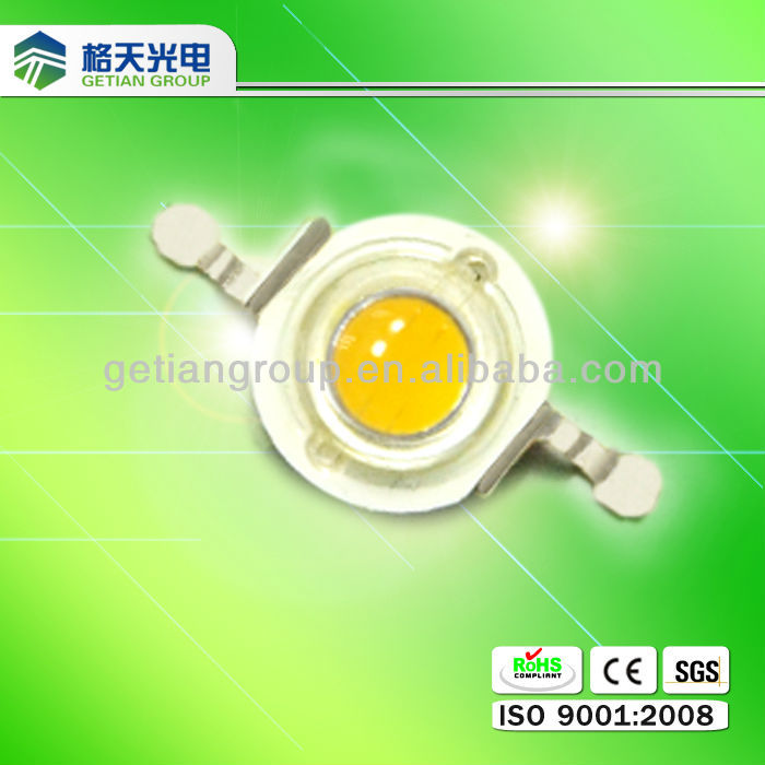Hot Sale Warm White Led Diode 1w For Wall Wash Lamp