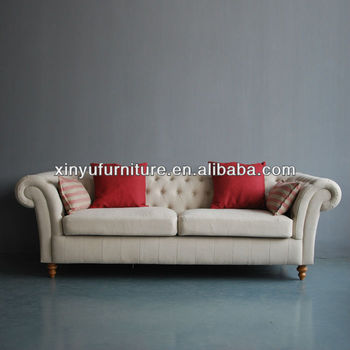 French Style Fabric Chesterfield Sofa Xy6001 Buy 3 Seater Antique