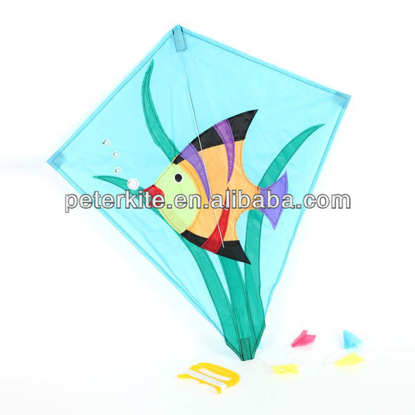 small printed kite
