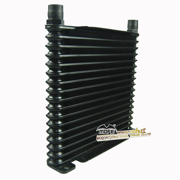 Mofe Racing AN10 car black transmission radiator