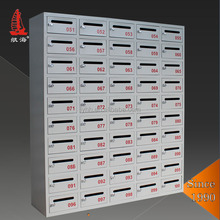Household free standing apartment building Metal Mailbox,Post Letter box ,Steel mail boxes