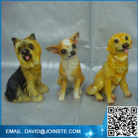 Resin animal Bobble Heads dog