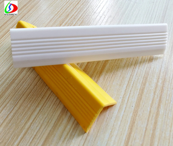 Rubber Flexible Stair Nosing Anti Slip Strip For Stairs