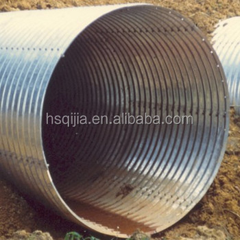 Large Diameter Corrugated Drainage Pipe