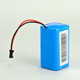18650 series 6V rechargeable lithium ion battery for powered led light