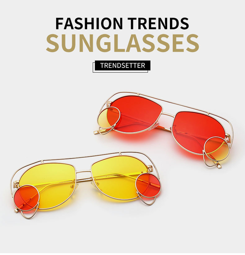 Top women's square sunglasses for business for women-5