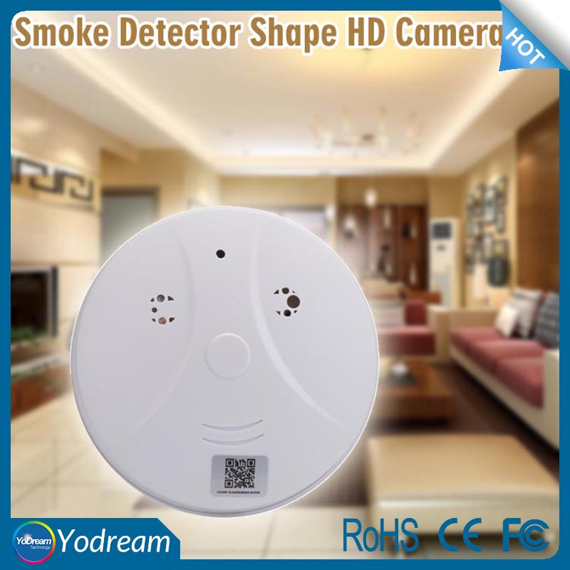 Smoke Detector Shape Spy camera de surveillance mini HD hidden Office Secret cam