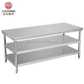 Stainless Steel Removable 3 Layer Kitchen Work Table - Buy Kitchen ...