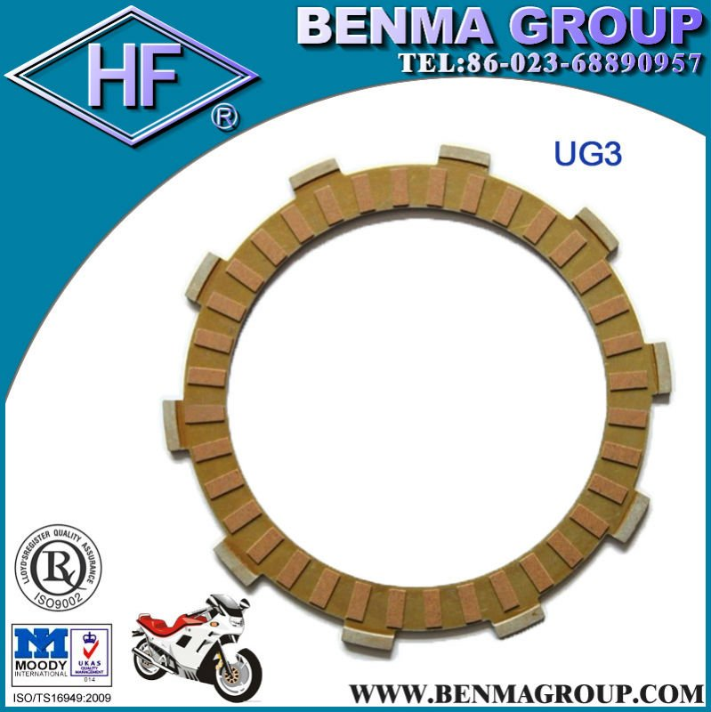 India Motorcycle Clutch Plate Paper Based ,High Quality Clutch Plate for Motorcycle ,Factory Directly sell !
