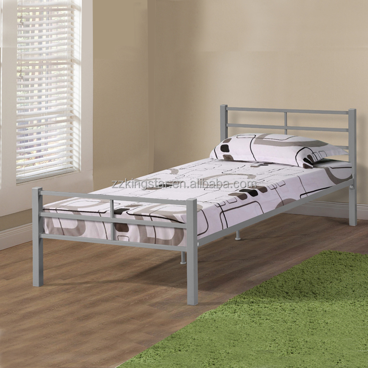 single steel bed frame single steel bed frame suppliers and manufacturers at alibabacom - Cheap Single Bed Frames