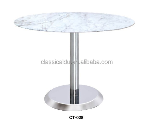 marble dining table round marble table marble restaurant dining table ct028