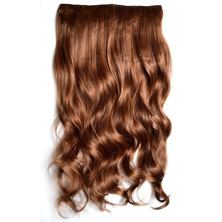Buy Synthetic Curly One Piece Hair Extensions Hot One Piece Long