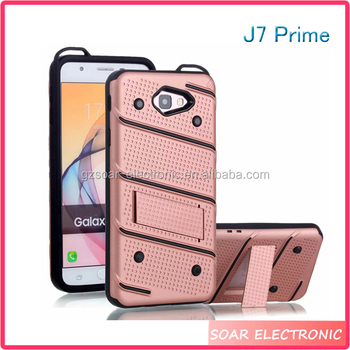 Soar 2017 New Coming Kickstand Shockproof Protective Case For Samsung Galaxy J7 Prime Handsfree Case For J7 Prime Buy Kickstand Shockproof Case For