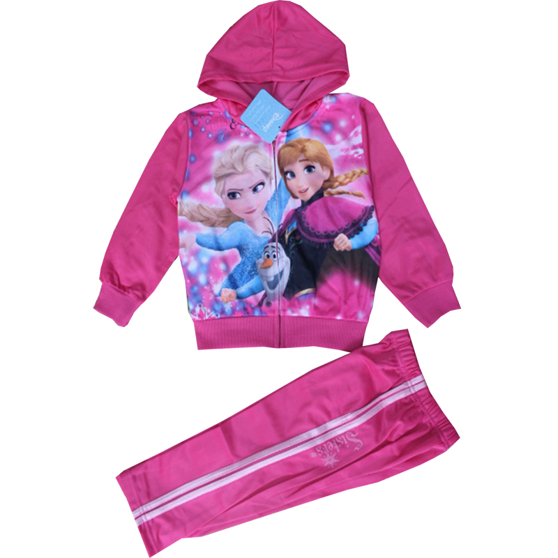 Free shipping new autumn and winter children's clothing, plus velvet suits, children's clothing sports suit, unisex casual wear