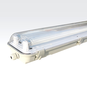 Low Price 1200 T5 1x28w Ip65 Fluorescent Heat Resistant Linear Light Fixture