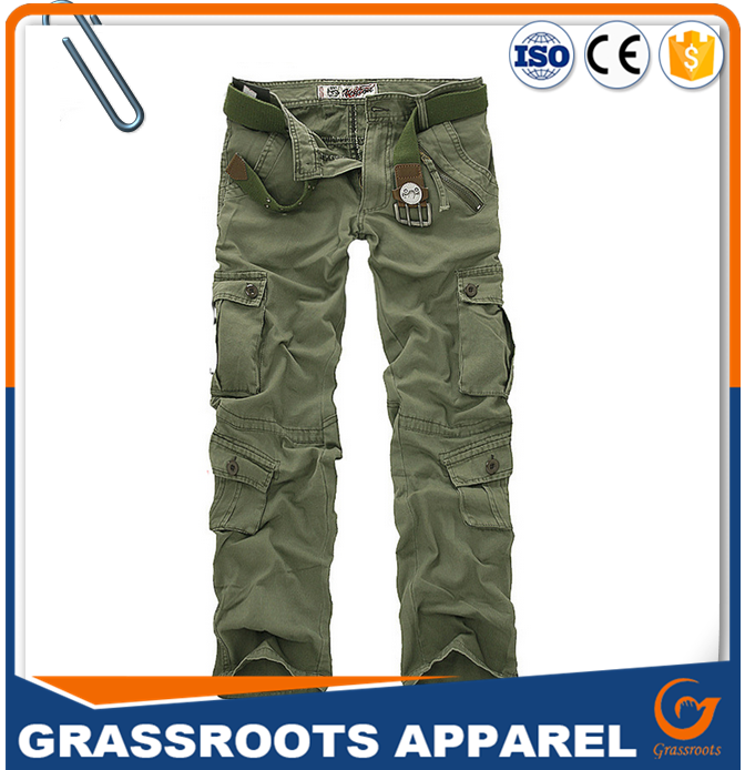 Hot selling mens cotton pants wholesale mens cargo pants workwear pants