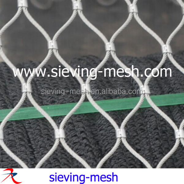 Safety Inox Rope Mesh,Building Facades Stainless Rope Cable Wire ...