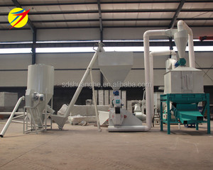 1TPH poultry livestock animal feed production line design