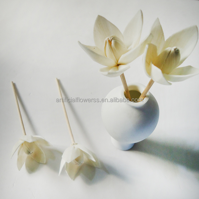Artificial Handmade Sola Flowers Wholesale Flower