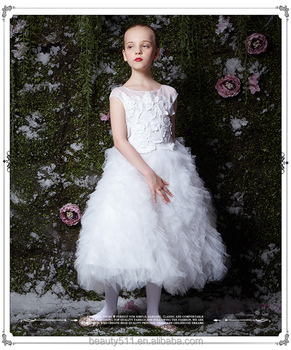 Showlands New Model Girl Dress 2017 Children Frock Model For Custom ED666
