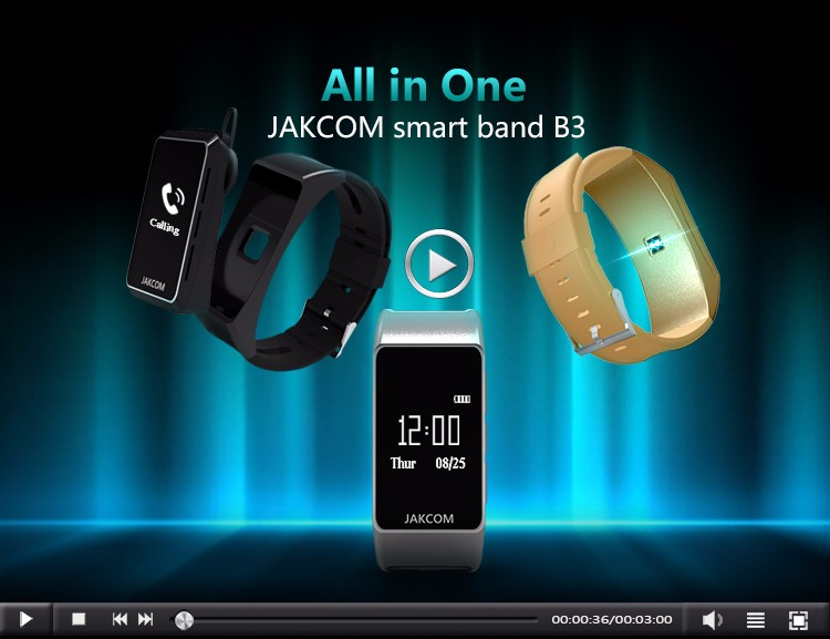 Jakcom B3 Smart Watch 2017 New Product Of Earphones & Headphones Hot Sale With Tube Amplifier 2016 New Hindi Mp3 Song Jakcom