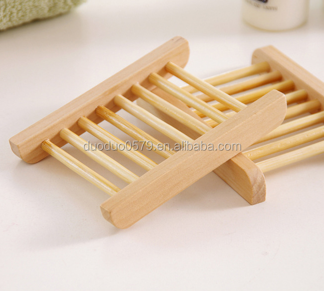 QWZ1093 Factorywholesale simple wooden soap holder shower wood soap dish soap case
