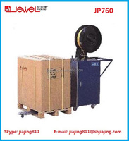 Hotsale!! Shanghai JEWEL JP760 pallet strapping machine, automatic pallet strapping machine with superior quality