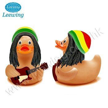 горячая распродажа гитарный балансир желтый Rubber Duck рок н ролл украшения Buy музыка резиновая утка гитара резиновая утка уникальная резиновая