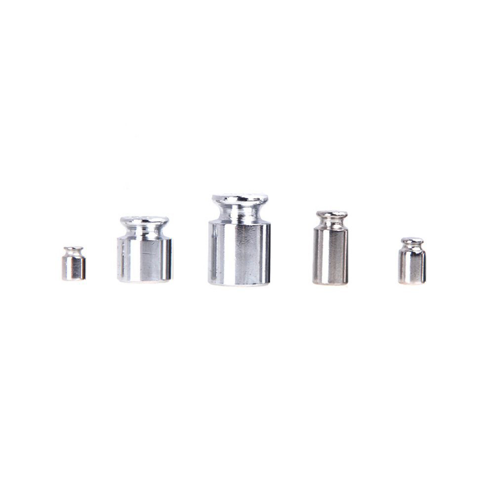 High Quality Weight 1g 2g 5g 10g 20g Chrome Plating Calibration Gram Scale Weight Set for Digital Scale Balance.jpg