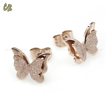 High Quality Women Stainless Steel Earrings Jewelry Surgical Grade