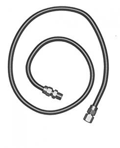 "36"" RCS Stainless Steel Flex Hose"