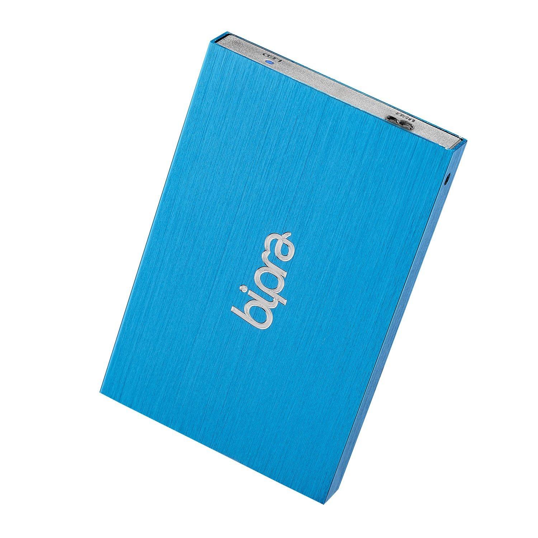 Bipra 250GB 250 GB USB 3.0 2.5 inch Mac Edition Portable External Hard Drive - Blue - Mac OS Extended (Journaled)