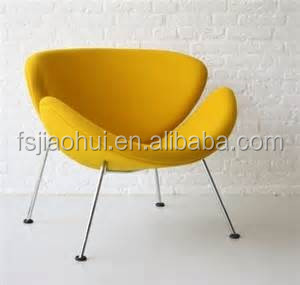 Design Furniture Fashion Lips Chair Pierre Paulin Orange Slice Chair For  Sale