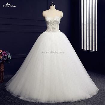 Rsw983 Heavy Beading Ball Gown Wedding Dresses Crystal Stones