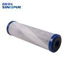 Hot sell pleated water wam carbon filter cartridge