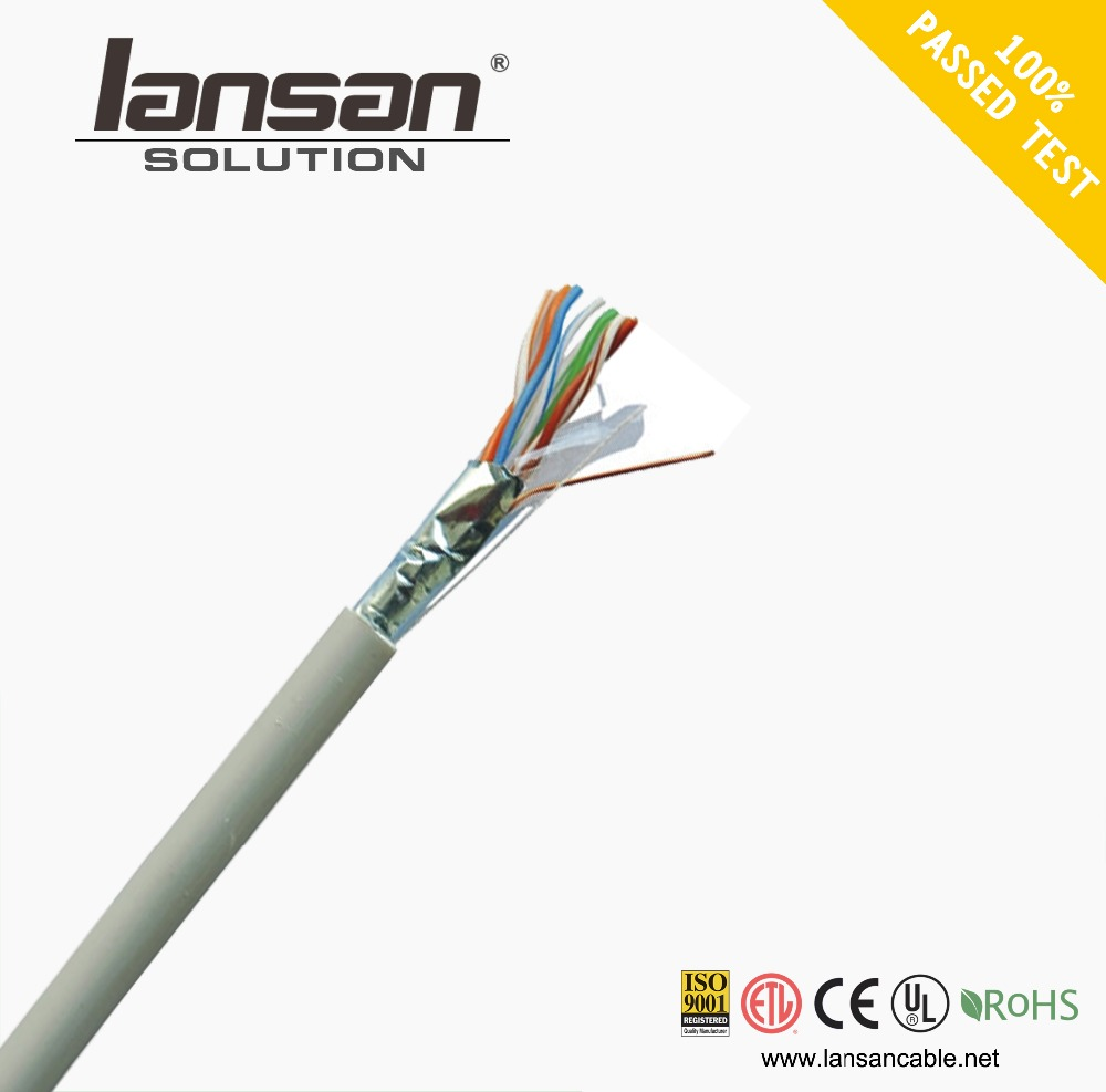 CAT5E 1000FT 24AWG UTP SOLID Blue NETWORK ETHERNET CABLE WIRE LAN
