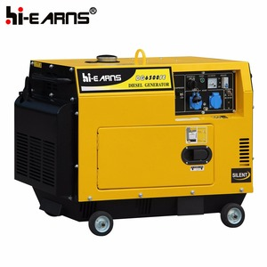 3KVA timer silent single phase diesel generator