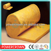 soundproof glass wool/yellow centrifugal glass wool blanket/fireproof and heat insulation glasswool blanket