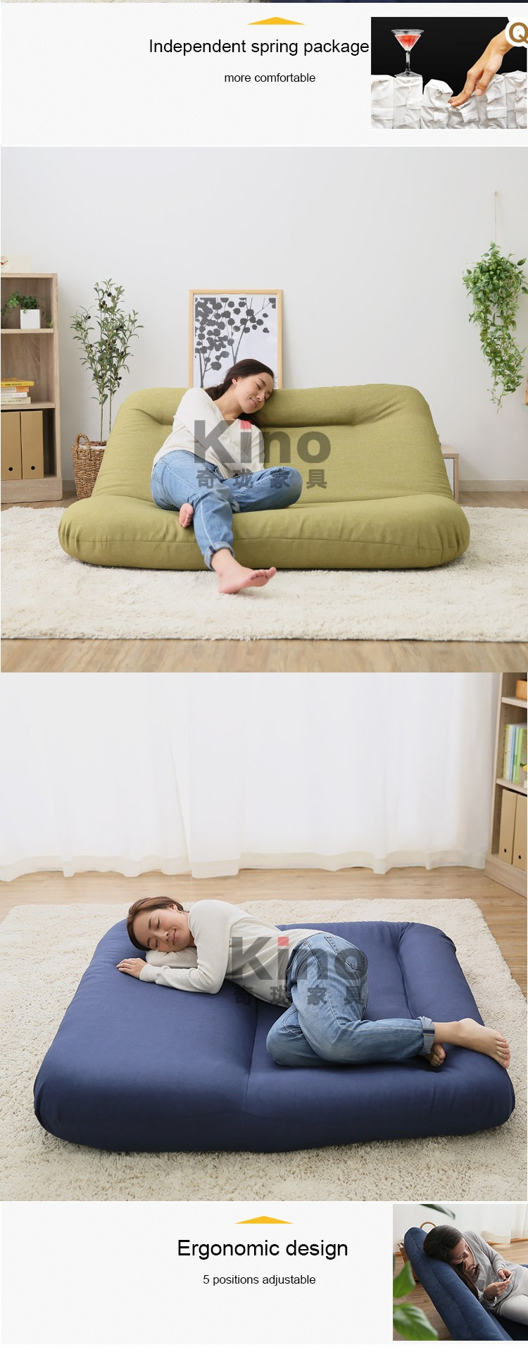 Lifestyle Living Room Sofa Chair Furniture,Ergonomic Design Soft ...